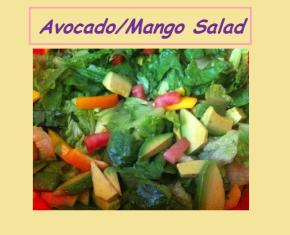 Mango/Avocado Salad