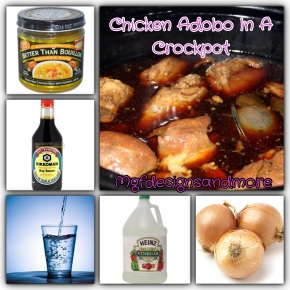 Easy Chicken Adobo In A Crockpot